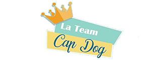 Logo TEAM CAP DOG - Formation effectuée par 4 Pat' Confort & Santé